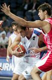 Championnat de basket-ball du monde Images libres de droits