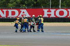 Championnat de course sur route de l'Asie 2015 Photos libres de droits