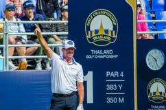 Championnat 2014 de golf de la Thaïlande Photo stock