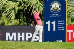 Championnat 2015 de golf de la Thaïlande images libres de droits