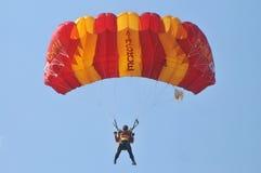 Championnat de parachutage militaire du monde Images libres de droits