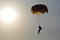 Championnat de parachutage militaire du monde Images stock