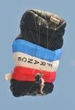 Championnat de parachutage militaire du monde Photo libre de droits