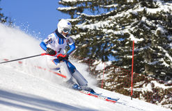 Championnat de ski sur Jahorina Photo stock