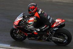 Championnat de Superbike du monde image libre de droits