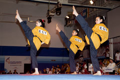 Championnat de Taekwondo Poomsae du monde de WTF Image stock