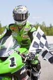 Championnat du Canada Superbike de pièces (autour de 1) pouvez Image libre de droits