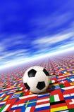 Championnat du football Images stock