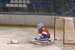 Championnat du monde d'hockey de boule dans Dmitrov 12-17 06 2018 photographie stock