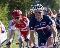 Championnat du monde de chemin de route d'UCI pour des hommes d'élite Image libre de droits