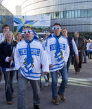 Championnat du monde de hockey sur glace 2012 Images libres de droits