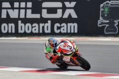 Championnat du monde de Superbike de FIM - 4ème session de pratique gratuite Image libre de droits