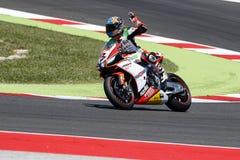 Championnat du monde de Superbike de FIM - course 2 Photo libre de droits