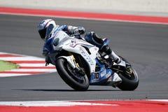Championnat du monde de Superbike de FIM - course 2 Photos libres de droits
