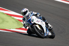 Championnat du monde de Superbike de FIM - course 2 Photo libre de droits