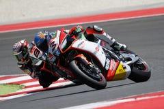 Championnat du monde de Superbike de FIM - course 2 Photographie stock libre de droits
