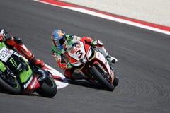 Championnat du monde de Superbike de FIM - course 2 Image stock