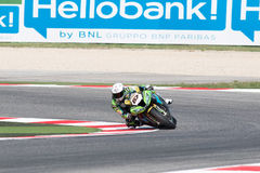 Championnat du monde de Superbike de FIM - session de pratique gratuite 3th Photographie stock