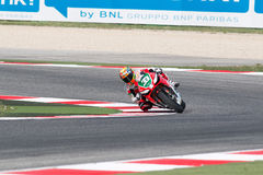 Championnat du monde de Superbike de FIM - session de pratique gratuite 3th Images libres de droits