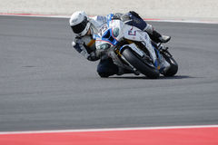 Championnat du monde de Superbike de FIM - session de pratique gratuite 3th Photos libres de droits