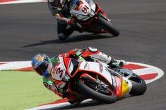 Championnat du monde de Superbike de FIM - session de Superpole (2) Photos libres de droits