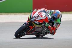 Championnat du monde de Superbike de FIM - session de Superpole (2) Images libres de droits