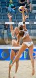 Championnat du monde de volleyball de la plage 2011 - Rome, Italie Photos libres de droits