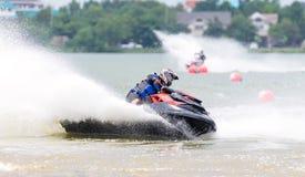 Championnat du nord-est 2015 de la Thaïlande de scooter de mer Photographie stock libre de droits