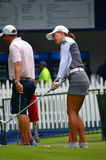 Championnat 2016 du PGA des femmes de Minjee Lee KPMG de golfeur professionnel Photo libre de droits