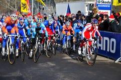 Championnat en travers cyclo 2010 du monde Images libres de droits