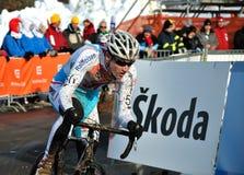 Championnat en travers cyclo 2010 du monde Photos libres de droits