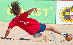 Championnat espagnol du football de plage, 2005 Photo stock