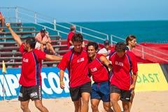 Championnat espagnol du football de plage, 2005 Images libres de droits