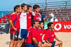 Championnat espagnol du football de plage, 2005 Photo libre de droits