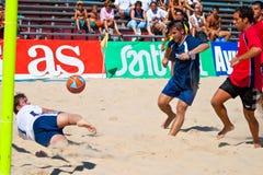 Championnat espagnol du football de plage, 2005 Images stock