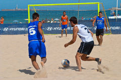 Championnat espagnol du football de plage, 2006 Photos stock