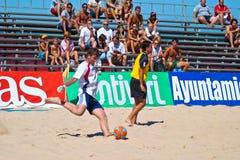 Championnat espagnol du football de plage, 2005 Photographie stock