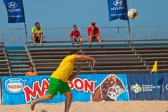 Championnat espagnol du football de plage, 2006 Photo stock