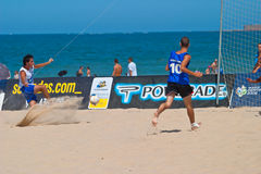 Championnat espagnol du football de plage, 2006 Photo stock