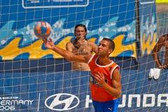 Championnat espagnol du football de plage, 2006 Image stock