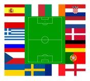 Championnat européen 2012 du football Photo libre de droits