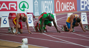 Championnat européen d'équipe d'athlétisme Photo libre de droits