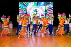 Championnat européen WADF de danse artistique Photographie stock libre de droits