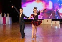 Championnat européen WADF de danse artistique Images stock