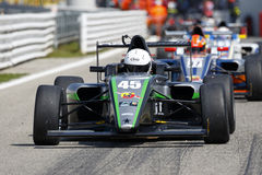 Championnat F4 italien actionné par Abarth Photo stock