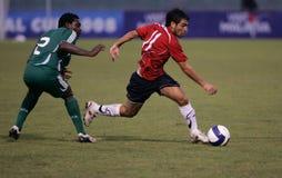 Championnat intercontinental du football U-23 Photos stock