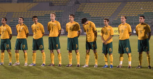 Championnat intercontinental Mala du football U-23 Image stock