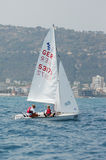 Championnat international 2010 de mot du yacht 420 Images stock