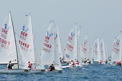 Championnat international 2010 de mot du yacht 420 Photographie stock libre de droits