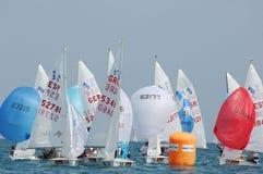 Championnat international 2010 de mot du yacht 420 Photo stock